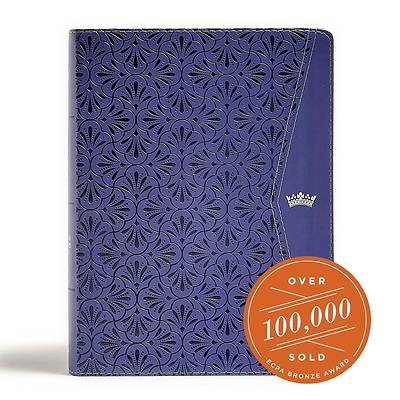 Picture of CSB Tony Evans Study Bible, Purple Leathertouch
