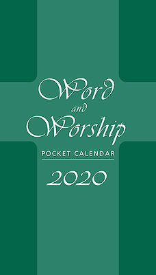 Picture of Word and Worship Pocket Calendar 2020