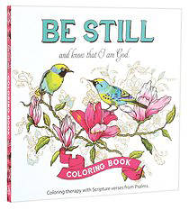 Adult Coloring Book Be Still