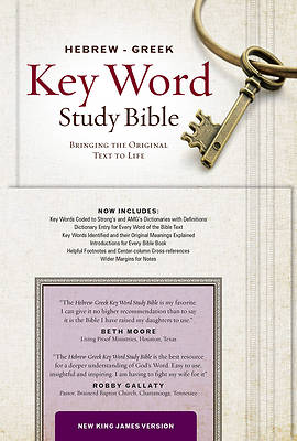 Hebrew Greek Key Word Study Bible-NKJV