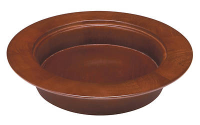 Maple Stacking Bread Plate - Walnut Finish