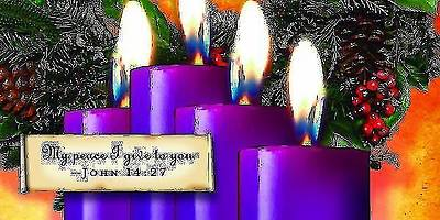 Advent Purple Offering Envelope 2013 (Package of 50)