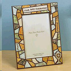 First Communion Mosaic Frame