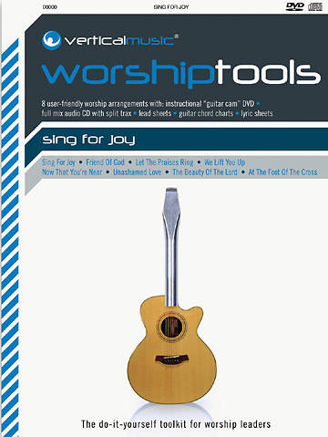 Vertical Worship Tools Songbook with Audio CD and  Instructional DVD