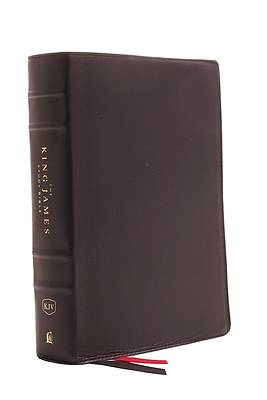 Picture of The King James Study Bible, Genuine Leather, Black, Full-Color Edition
