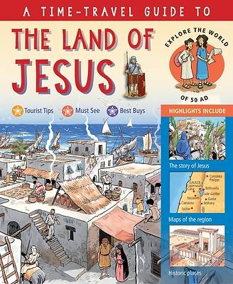Picture of A Time-Travel Guide to the Land of Jesus