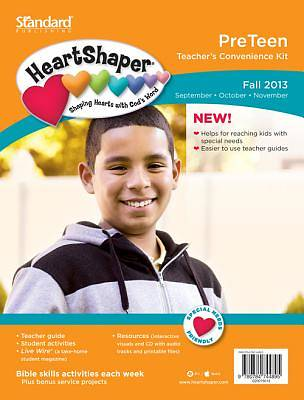 Standard HeartShaper PreTeen Teachers Kit Fall 2013