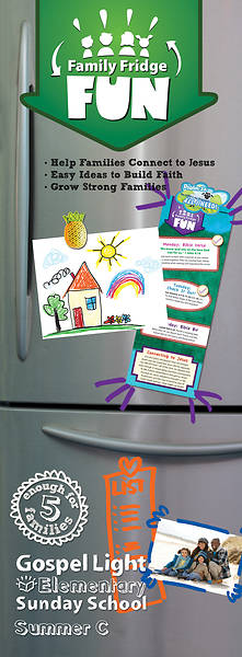 Gospel Light Elementary Family Fridge Fun Summer (pkg5)
