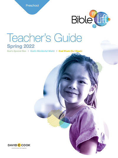 Picture of Bible in Life Preschool Teacher Guide Spring