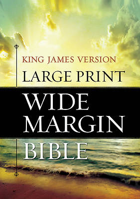 Large Print Wide Margin Bible-KJV