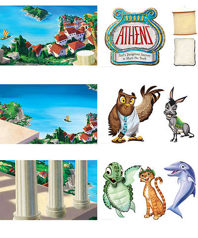 Group VBS 2013 Athens Giant Decorating Posters (set of 6)