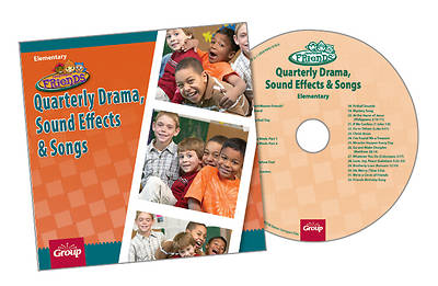 Group FaithWeaver Friends Elementary Drama Sound Effects & Songs CD Fall 2013