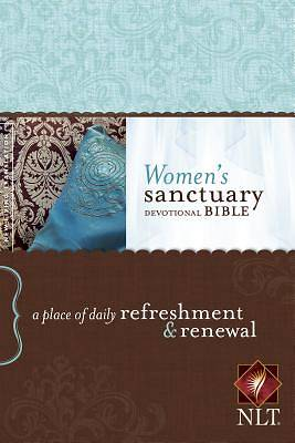 Womens Sanctuary Devotional Bible-NLT