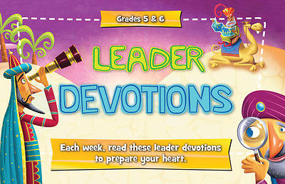 Buzz Grades 5&6: Leader Devotions, Winter  2017-18