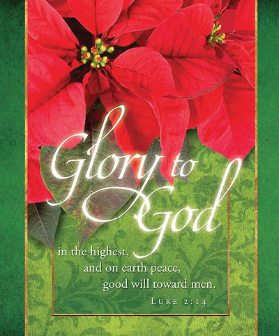 Glory to God/Christmas Bulletin, Large (Package of 100)