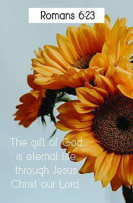 Picture of The Gift of God Bulletin (Pkg 100) General Worship