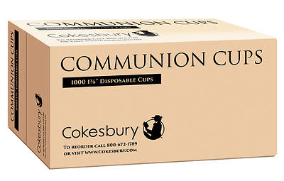 "Cokesbury Disposable Communion Cups 1 3/8"" (Box of 1000)"