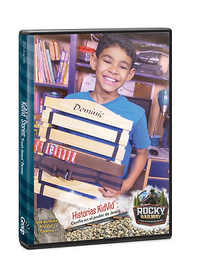 Picture of Kidvid Stories Trust Jesus' Power DVD (Spanish for Bilingual Edition)