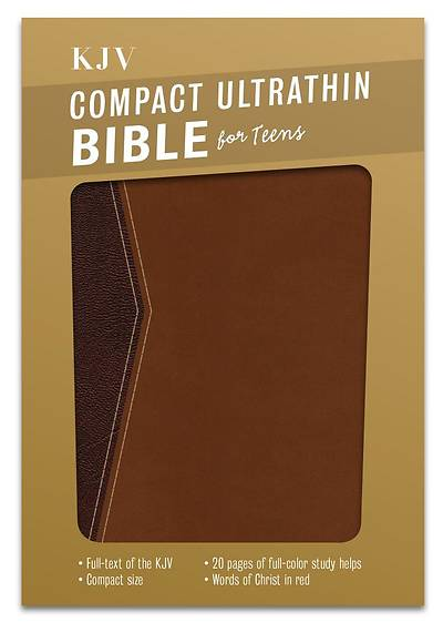 Picture of Compact Ultrathin Bible for Teens-KJV