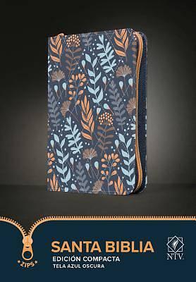 Picture of Santa Biblia Ntv, Edición Compacta (Tela, Azul Oscuro)