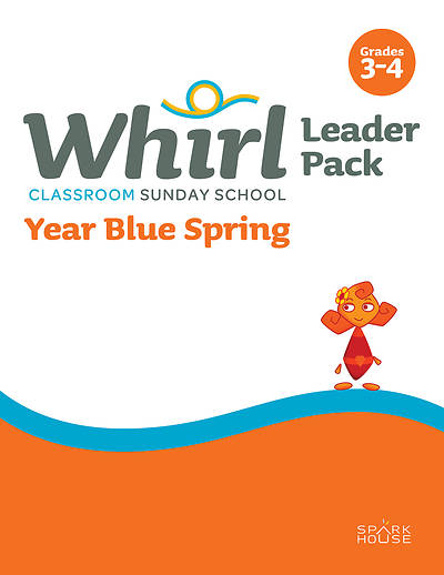 Picture of Whirl Classroom Leader Grades 3-4 Year Blue Spring