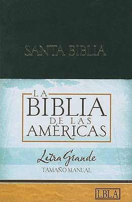 Picture of Hand Size Giant Print Bible-Lbla