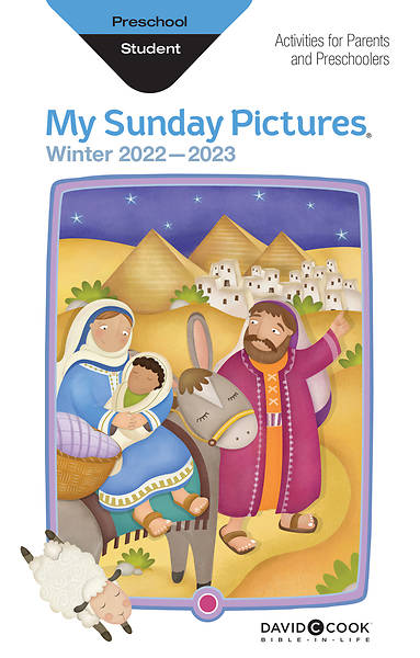 Bible-in-Life Preschool My Sunday Pictures Winter