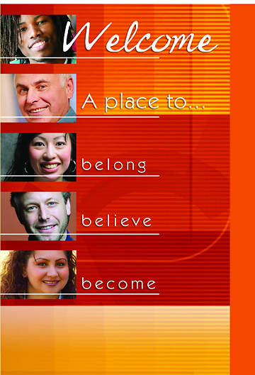 Belong, Believe, Become Welcome Folder (Package of 12)
