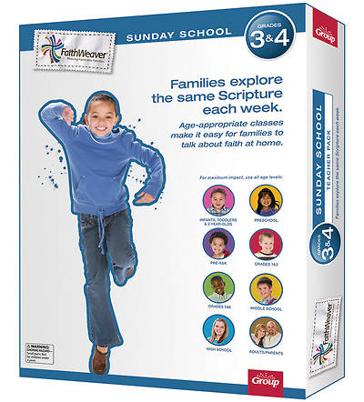 Groups Faithweaver Grades 3 & 4 Teacher Pack Winter 2012 13