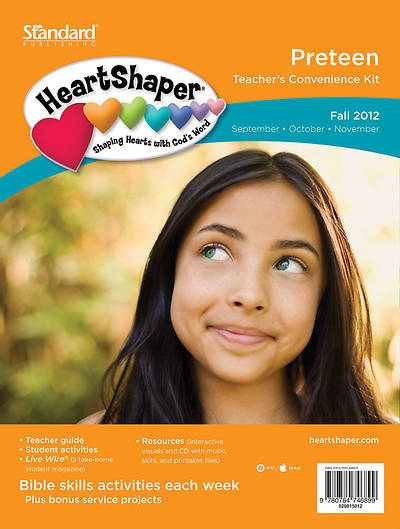 Standards HeartShaper PreTeen Teachers Kit Fall 2012