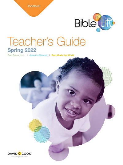 Bible-in-Life Toddler & 2 Teachers Guide Spring