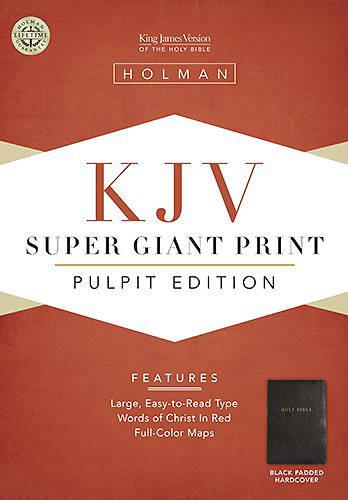 Picture of Pulpit Bible-KJV Super Giant Print