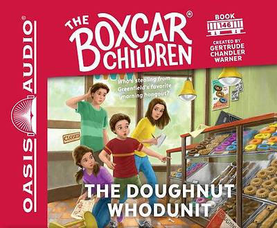 The Doughnut Whodunit (Library Edition)