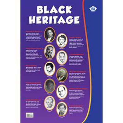 """Picture of Vacation Bible School VBS 2021 Black History Poster (36"""" x 24"""")"""