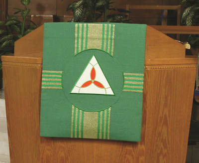 Picture of Abbott Hall Kingdom Cross N2349A Pulpit Scarf