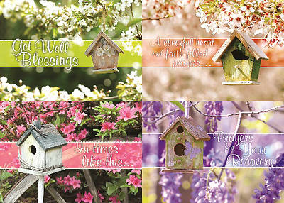 Picture of Birdhouse Blessings Get Well Boxed Cards