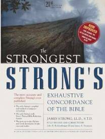 Strongest Strongs Exhaustive Concordance of the Bible Super Saver