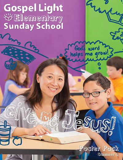 Gospel Light Elementary Bible Teaching Poster Pack Summer