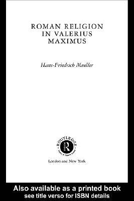 Roman Religion in Valerius Maximus [Adobe Ebook]