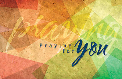 Picture of Praying for You Postcard - Colossians 1:3 Package of 25