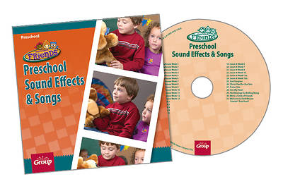 Group FaithWeaver Friends Preschool Drama Sound Effects & Songs CD Fall 2013