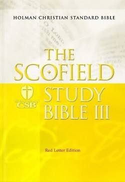 The Scofield Study Bible III Holman Christian Standard Bible