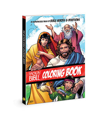 Picture of The Action Bible Coloring Book