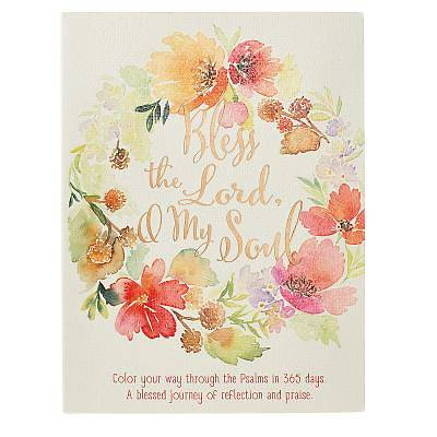 Picture of Bless the Lord, O My Soul - Coloring Devotional