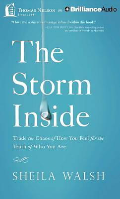 The Storm Inside Audiobook - MP3 CD