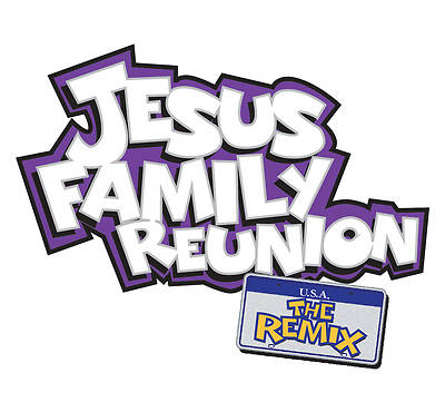 UMI VBS 2013 Jesus Family Reunion: The Remix Iron-On Transfers (12 per pack)