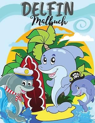 Picture of Delphin Malbuch