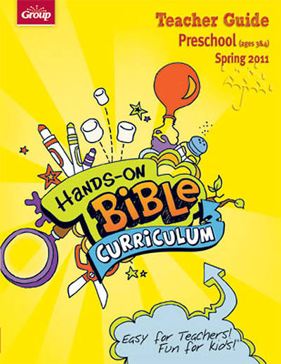 Picture of Group's Hands-On-Bible Curriculum Preschool Teacher Guide Spring 2011