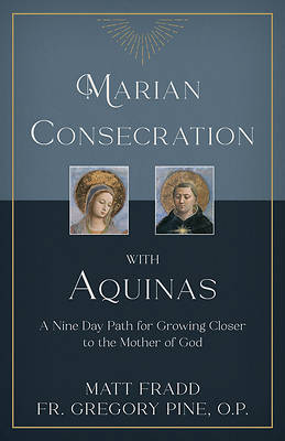 Picture of Marian Consecration with Aquinas