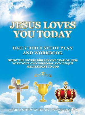 Picture of Jesus Loves You Today Daily Bible Study Plan and Workbook